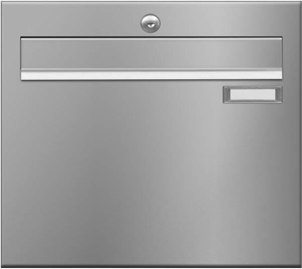 Briefkastenanlage LUIS von Frabox in Edelstahl