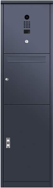 Frabox Post- und Paketkasten VORLEY mit DoorBird-Videotechnik %