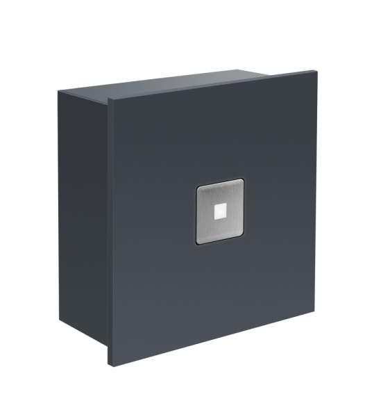 Frabox Design LED Klingelelement NAMUR II Anthrazitgrau für Aufpuztmontage