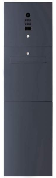 Frabox Standbriefkasten LEVEL ONE mit DoorBird-Videotechnik