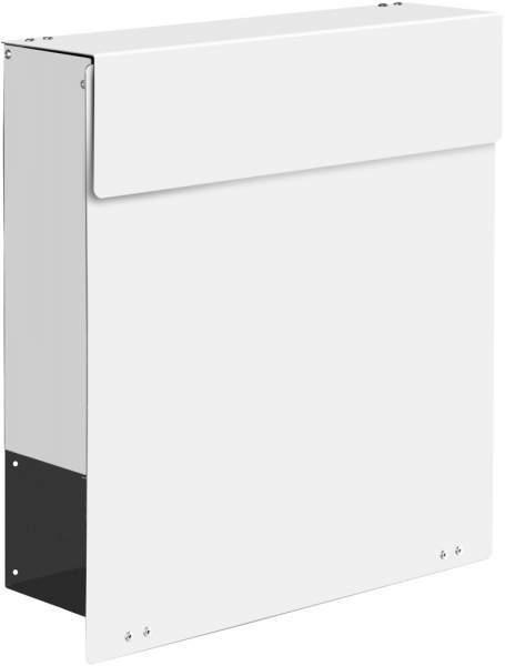 Frabox Design Briefkasten NAMUR Stahl lackiert Ral 9016 %