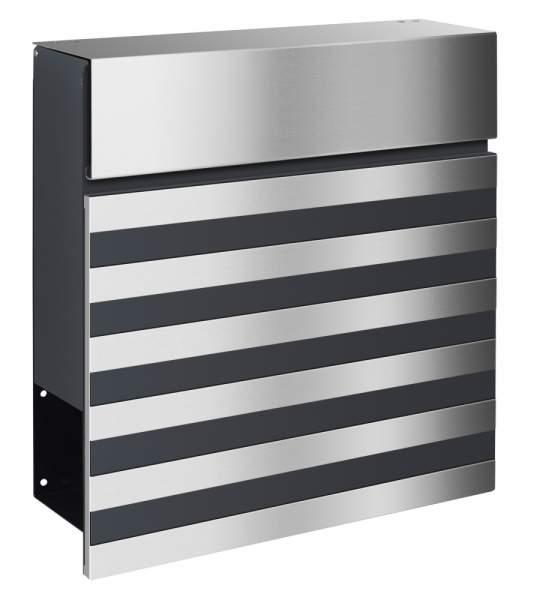 Frabox Design Briefkasten NOVE Stahl lackiert / Edelstahl