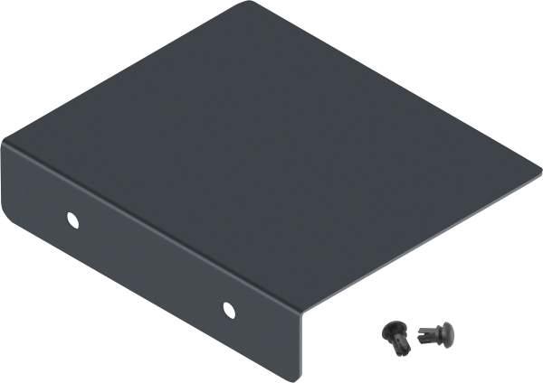Frabox Verschlusskappe für Zeitungsfach GART Anthrazitgrau
