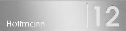 Frabox ® Lasercut-Beschriftung für die Montage auf Frabox Briefkästen