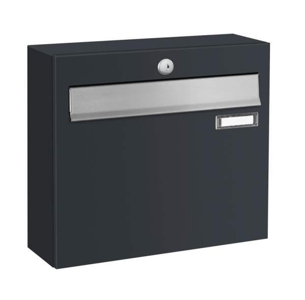 Frabox Briefkasten LUIS mit Edelstahl-Einwurfklappe