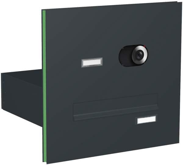 Briefkastenanlage Türseitenteil gerade Kästen Modell T2V mit Video