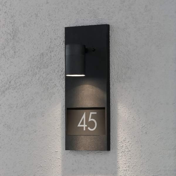 Konstsmide Hausnummern-Strahler NEW MODENA