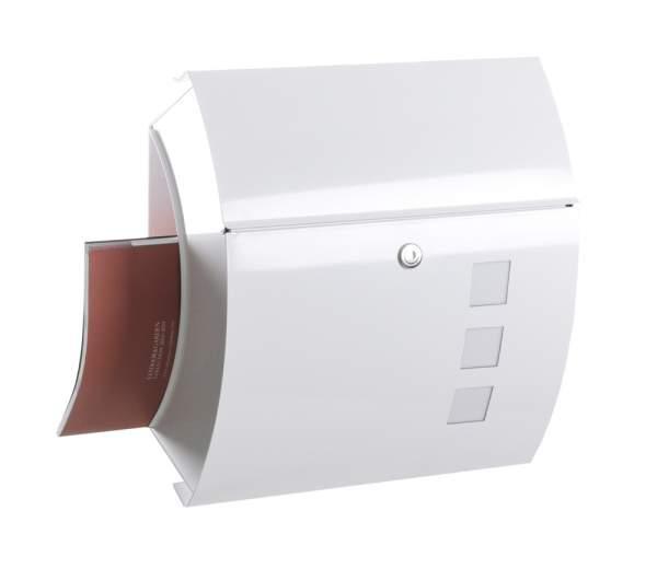 Frabox Briefkasten SANTA FE EXKLUSIV White
