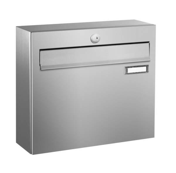 Frabox Edelstahl Briefkasten LUIS