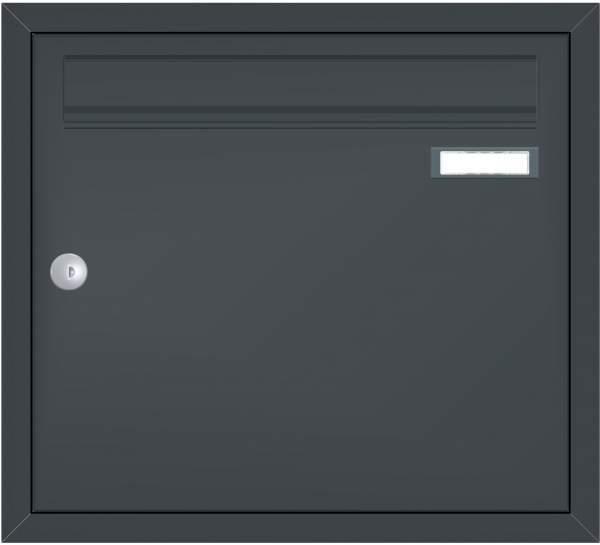 Briefkastenanlage Unterputz mit eckiger Verkleidung Modell U1 %