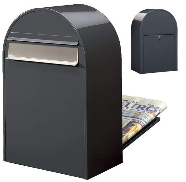Bobi Briefkasten CLASSIC B in RAL 7016