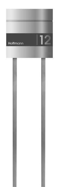 Frabox Edelstahl Design Briefkasten LEVARA