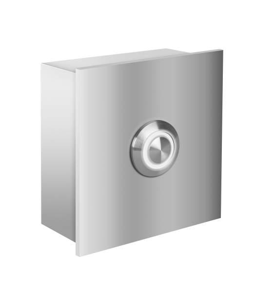 Frabox Design Edelstahl LED Klingelelement NAMUR für Aufpuztmontage