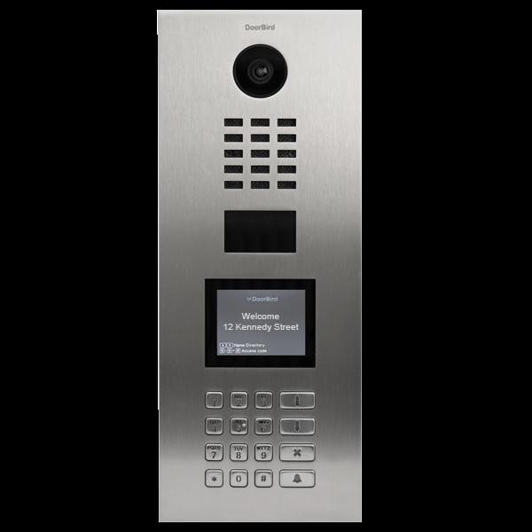 DoorBird IP Video Türstation D21DKV für Mehrfamilienhäuser, Edelstahl V2A,