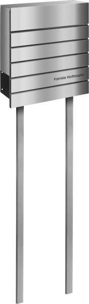 Frabox Edelstahl Design Briefkasten SIDERS