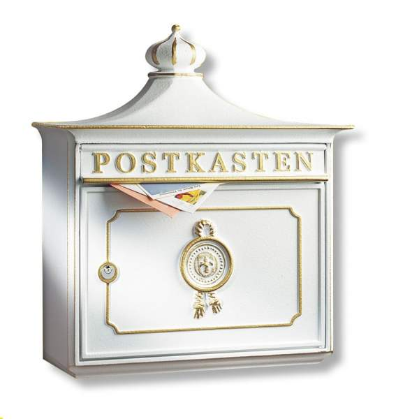 Burg Wächter Briefkasten Bordeaux %