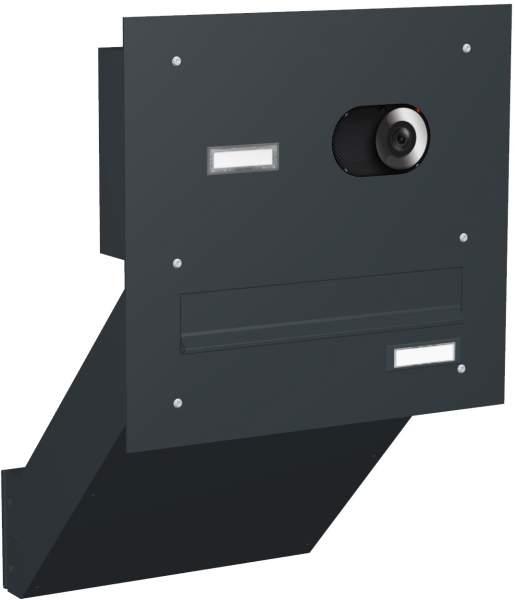 Briefkastenanlage Mauerdurchwurf Modell M3V mit Video