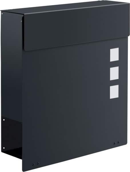 Frabox Design Briefkasten NAMUR EXKLUSIV Stahl lackiert