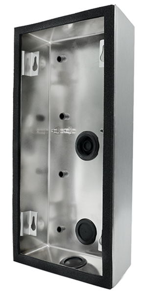 DoorBird D2101V Aufputz Montagerückgehäuse, Edelstahl V2A, gebürstet