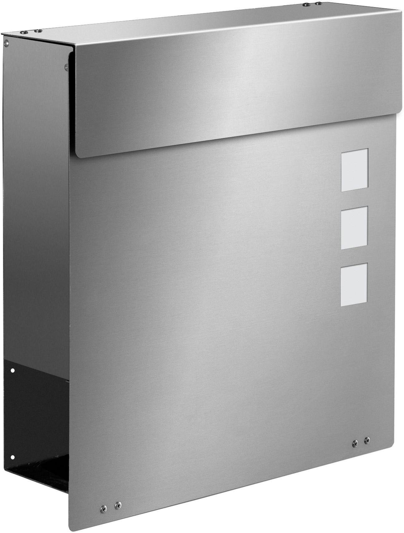 Frabox Edelstahl Design Briefkasten NAMUR EXKLUSIV   Briefkästen ...