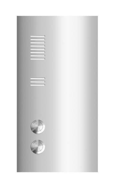 Frabox Edelstahl Klingelplatte E2 mit Sprechsieb