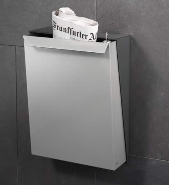 Serafini Briefkasten S-BOX Edelstahl Edition