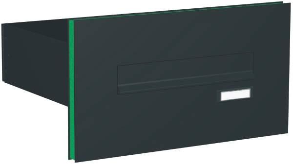 Briefkastenanlage Türseitenteil gerade Kästen Modell T1