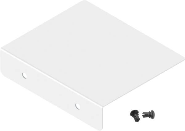 Frabox Verschlusskappe für Zeitungsfach GART Weiss