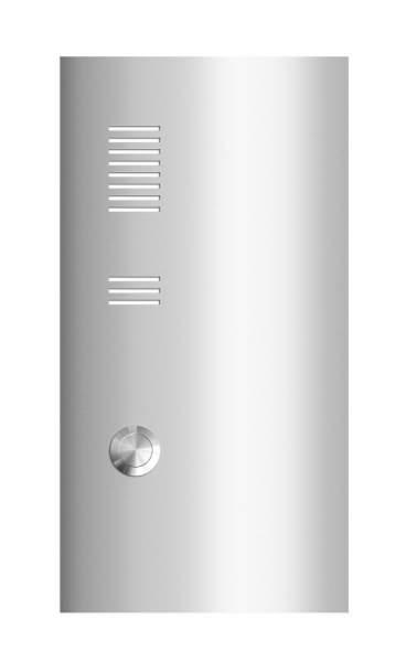 Frabox Edelstahl Klingelplatte E1 mit Sprechsieb