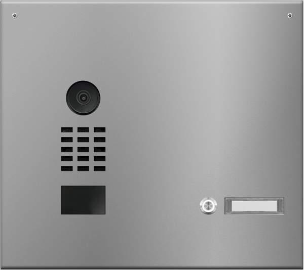 Frabox Videomodul LUIS in Edelstahl inklusive DoorBird-Videotechnik