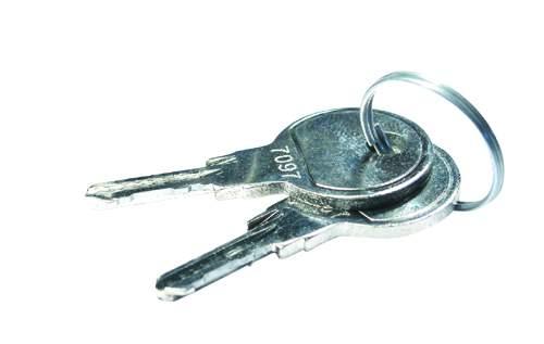 Ersatzschlüssel für Mefa Briefkästen