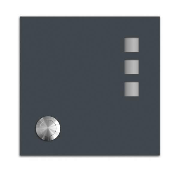 Frabox Klingelplatte STAY III Grey