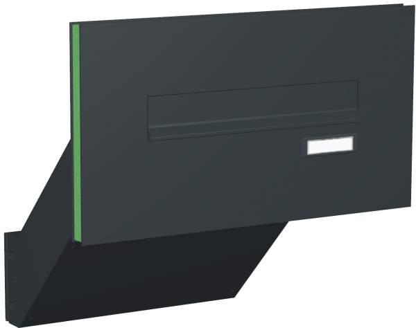 Briefkastenanlage Türseitenteil schräge Kästen Modell T3