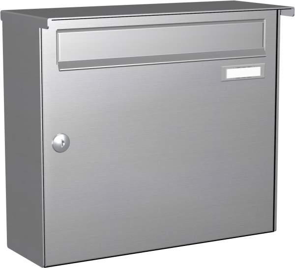 Briefkastenanlage Aufputz in Edelstahl Modell EA1