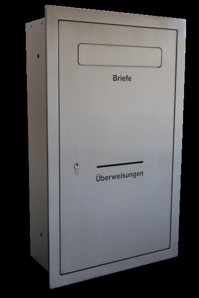 Einbau-/Unterputz - Sicherheitsbriefkasten SECURE 8